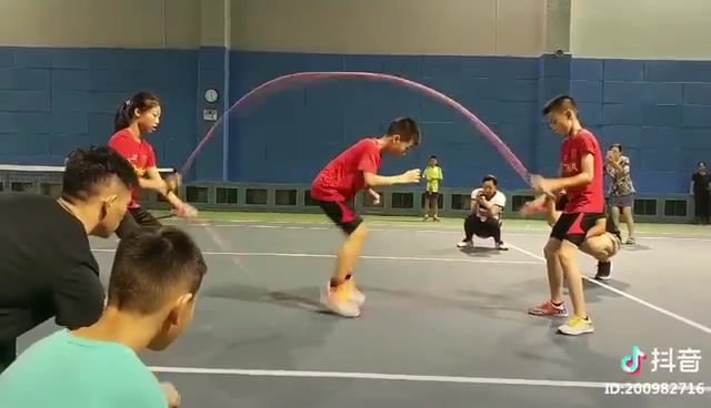 "Show you our speed! Preparation for ""World Jump Rope Championship 2018""."